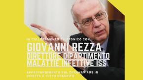 Coronavirus: Il Professor Giovanni Rezza, direttore del Dipartimento di malattie infettive dell'ISS, interviene a Tutto Esaurito