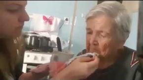 nonna malata di Alzheimer
