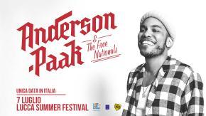 Anderson .Paak & The Free Nationals in Italia il 7 luglio: Radio 105 è radio ufficiale del concerto!