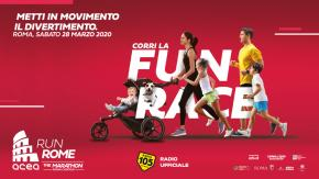 Arriva Acea Run Rome The Marathon: Radio 105 è la radio ufficiale