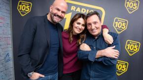 Paola Cortellesi a 105 Friends per presentare il film Figli
