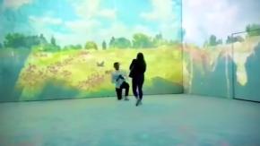 La meravigliosa (e originale) proposta di matrimonio alla mostra di Monet