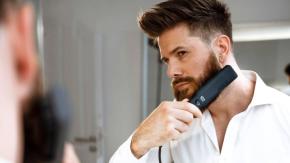 Arriva la piastra per lisciare la barba degli uomini