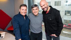 """Vincenzo Salemme a 105 Friends per presentare lo spettacolo """"Con tutto il cuore"""""""