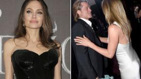 Angelina Jolie sarebbe furiosa con Brad Pitt dopo l'abbraccio a Jennifer Aniston