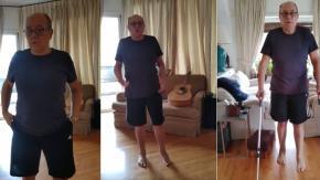 """Carlo Verdone cammina di nuovo: """"Impazzivo dal dolore: oggi un miracolo!"""""""