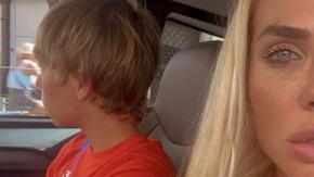 Ilary Blasi posta un video del figlio (14enne) alla guida e si scatena la polemica