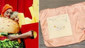 Taylor Swift regala una copertina ricamata a mano alla figlia di Katy Perry