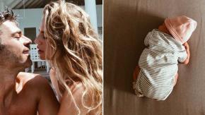 Ecco la prima tenerissima foto della figlia di Luca Argentero e Cristina Marino
