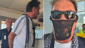 Usa un tanga come mascherina: arrestato il creatore dell'antivirus McAfee