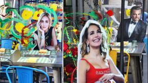 """Vip a tavola: un locale di Milano """"tiene le distanze"""" in modo creativo"""