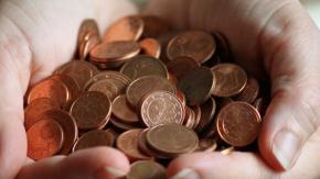 Le monete da 1 e 2 centesimi potrebbero sparire dal 2021