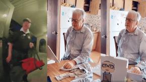 A 89 anni consegna pizze per vivere... poi TikTok gli cambia la vita