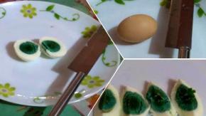 Il mistero delle galline che depongono uova dal tuorlo verde