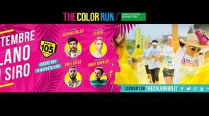 """Torna """"The Color Run"""", la coloratissima corsa dei record.. Con Radio 105!"""