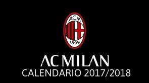 Serie A 2017/2018: ecco il calendario del Milan!