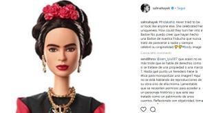 """Salma Hayek critica la Barbie Frida Kahlo  """"Come hanno potuto farlo """" f15c9108da9c"""