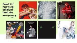Le edizioni speciali degli album di Achille Lauro, Sfera Ebbasta, DrefGold, Tedua, Luca Carboni, Rkomi e molti altri tra le Novità Prime Day!