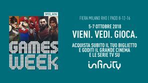 Con Milan Games Week puoi vincere un mese gratis su Infinity