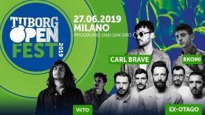 Il 27 giugno a Milano arriva il Tuborg Open Fest!