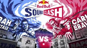 Arriva per la prima volta in Italia Red Bull SoundClash. Sui due palchi Carl Brave e Frah Quintale pronti per la sfida.