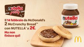 A San Valentino Nutella® Party da McDonald's!