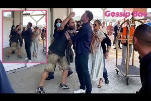 Il video di Ben Affleck versione bodyguard per proteggere la sua Jennifer Lopez