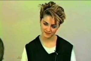 Lo sapevate che Madonna è stata scartata ai provini della serie TV Saranno Famosi?
