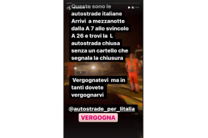 "Mancini furioso per l'autostrada chiusa: ""Dovete vergognarvi"""