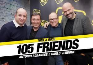 105 FRIENDS ALBANESE E VERDONE
