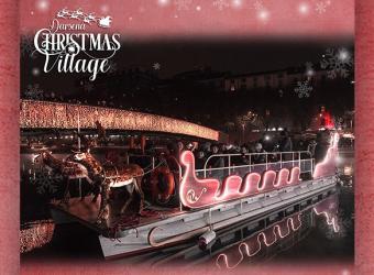 """Al """"Darsena Christmas Village"""" con la grande musica natalizia.. firmata Radio 105!"""