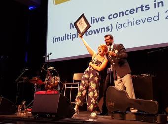 Grande successo per il #FiestaSound, il tour dei record di Noemi!