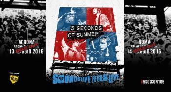 5Sos Live in Italia: vinci i biglietti e incontra Luke, Ashton, Calum e Michael!