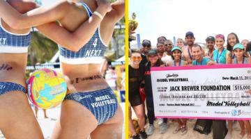 """Con 105 Miami al """"Model Volleyball"""" 2017!"""