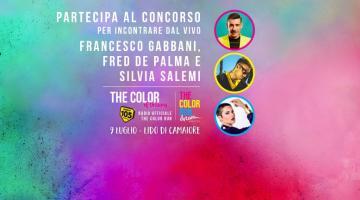 Ti piacerebbe incontrare dal vivo Francesco Gabbani, Fred De Palma e Silvia Salemi alla tappa di Lido di Camaiore?