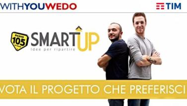 105 SMART UP: la sfida di questa settimana è tra ECOSOST, DIMORE DEL QUARTETTO e GENGLE