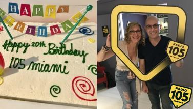 105 Miami festeggia 20 anni: le foto della festa!