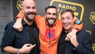 Marco Mengoni, le foto dell'intervista a 105 Friends