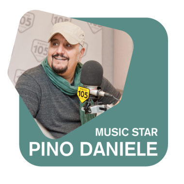Radio 105 music star: Pino Daniele