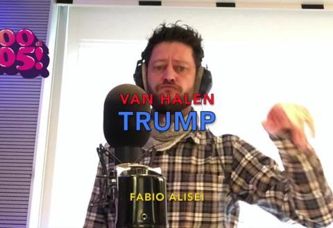 Fabio Alisei canta i Van Halen per Donald Trump!
