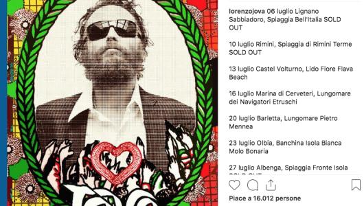 Jovanotti raddoppia a Lignano e a Viareggio: aggiunte due date al Jova Beach Tour