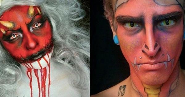 Gli incredibili make-up artist che trasformano i volti in opere d'arte