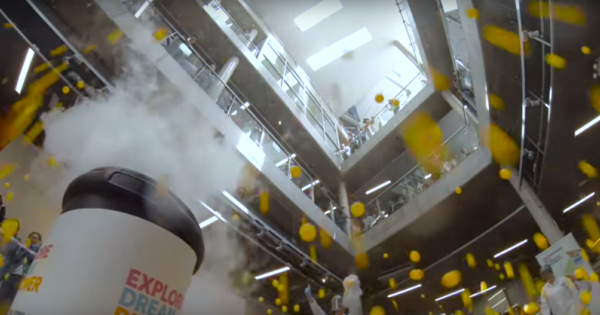 Azoto liquido + palline da ping pong = Guardate il video!