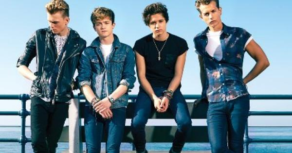 The Vamps:-) - Magazine cover