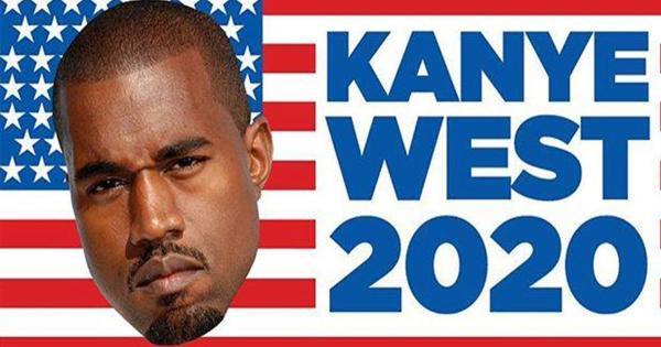 Kanye West: ora l'America vuole lui come Presidente