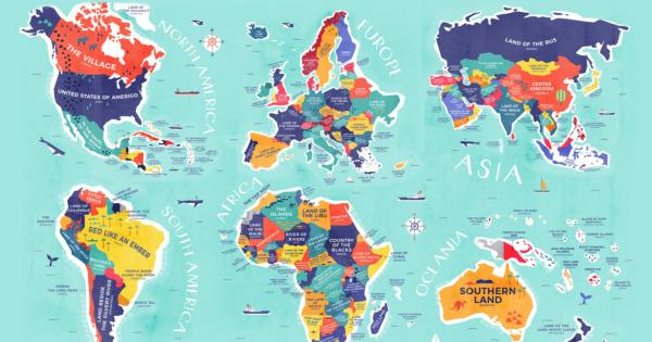 Nasce la mappa che spiega cosa significano i nomi dei for Nomi dei gemelli diversi