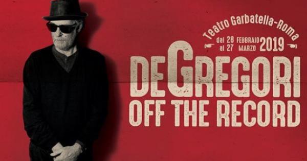 """De Gregori, è partito il suo """"Off The Record"""", un tour per pochi intimi"""