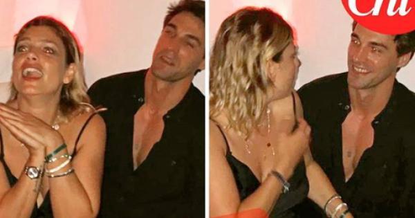 Emma Marrone paparazzata (felice e sexy) con Nikolai