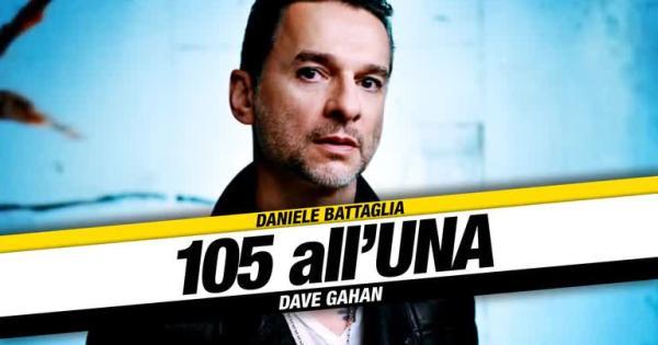 """Dave Gahan a 105 all'Una: """"Solo in Italia potevo avere un'accoglienza così"""""""