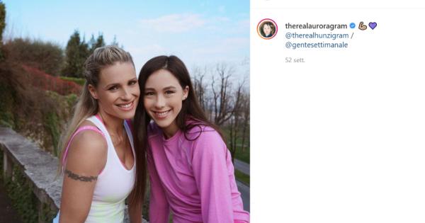 Michelle Hunziker difende la figlia Aurora sulla vicenda catcalling